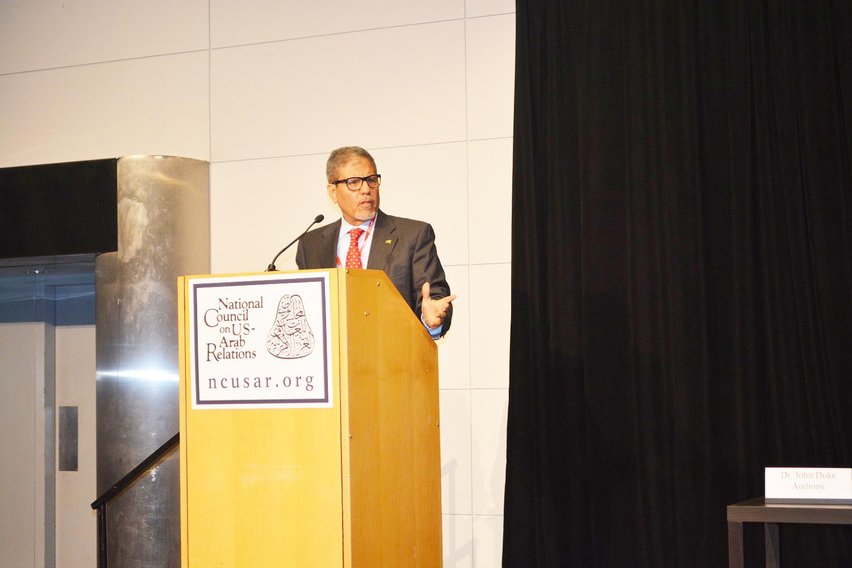 Dr. Turki Faisal Al Rasheed speaks at the National Council on U.S.-Arab Relations