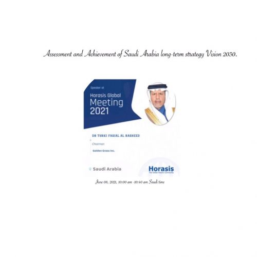 Assessment and Achievement of the Saudi Vision 2030 to Diversify its Economy.