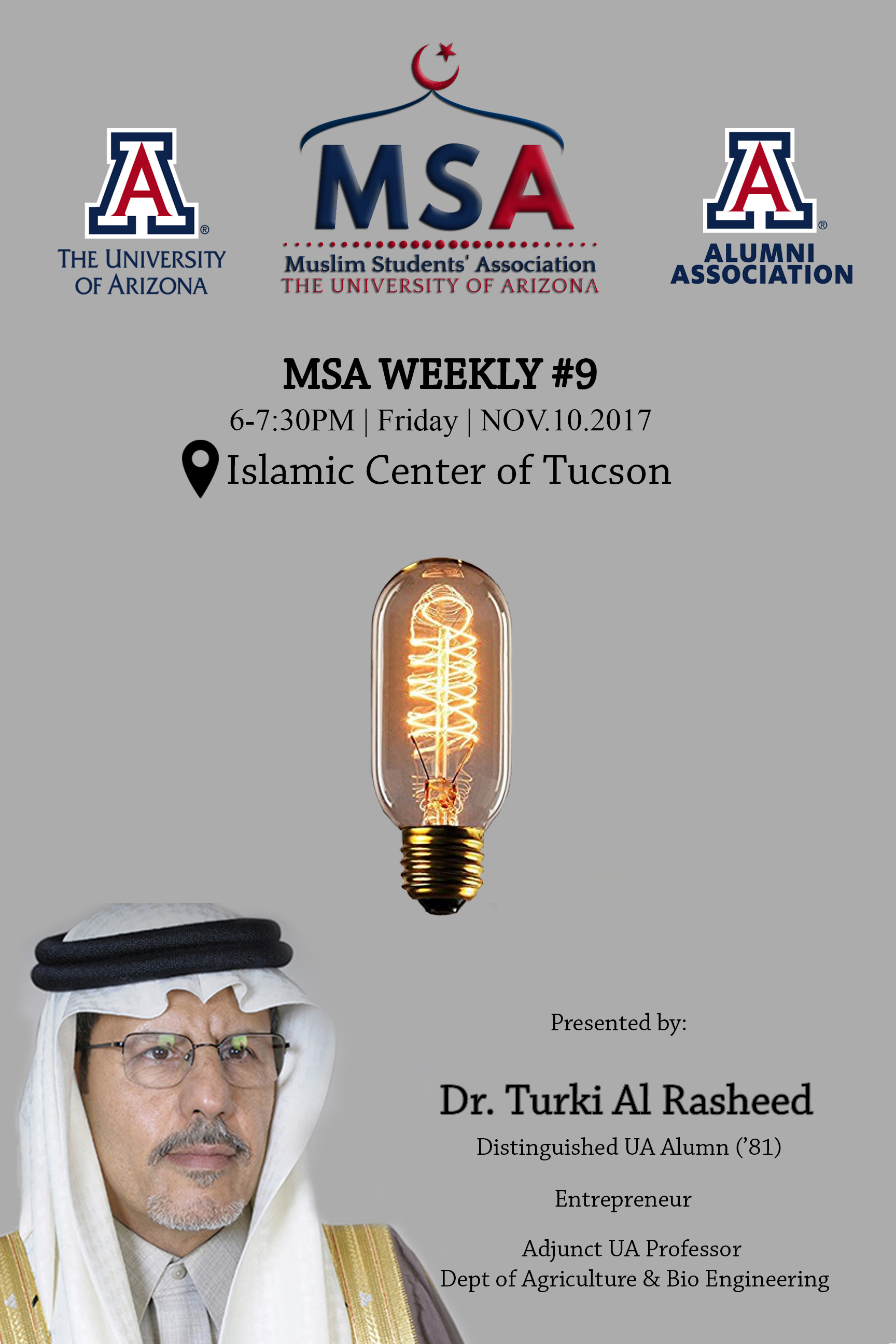 MSA Weekly 9 - Dr. Turki Alrasheed