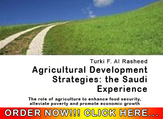 Agricultural Development Strategies: the Saudi Experience